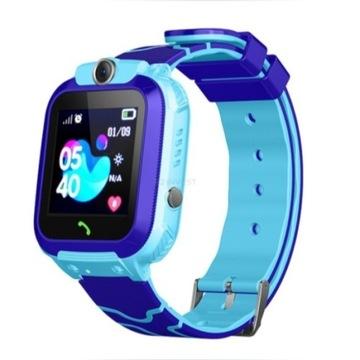 Smartwatch dla Dzieci Różowy lub Niebieski z GPS