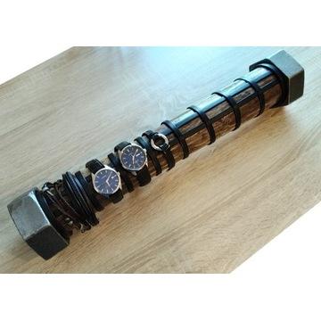 Industrialny stojak, ekspozytor na zegarki. LOFT