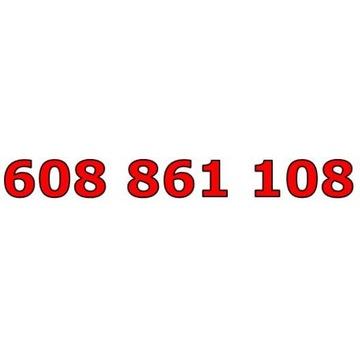 608 861 108 T-MOBILE ŁATWY ZŁOTY NUMER STARTER