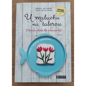 Książka 'U Malucha na talerzu'