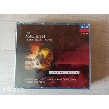 VERDI Macbeth Schippers Taddei Decca UNIKAT
