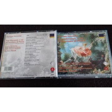 Giuseppe Gazzaniga Don Giovanni opera 2CD