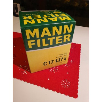 Filtr powietrza MANN-FILTER C 17 137 x NOWY