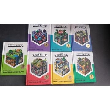Minecraft Podręcznik Mojang 7 sztuk