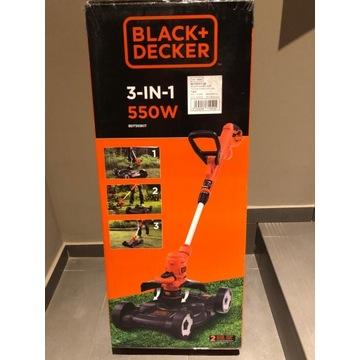 Kosiarka ogrodowa do trawy 3 w 1 Black&Decker Kit