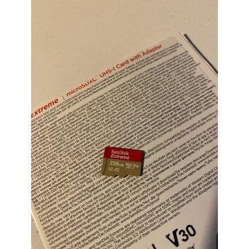 Karta SANDISK EXTREME 256GB microSD 160MB/s A2 V30