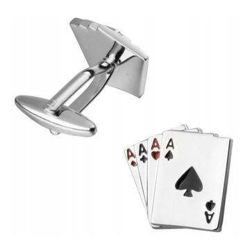 Spinki Poker Karty do gry