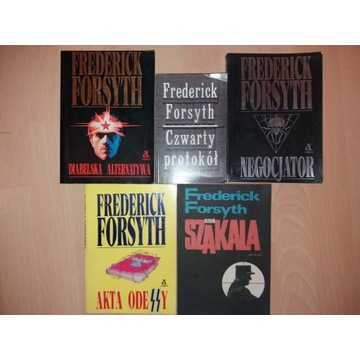 Frederick Forsyth x 5