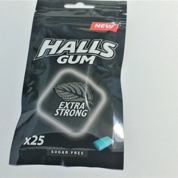 GUMY HALLS EXTRA STRONG 36,5G *25draze *24 tore