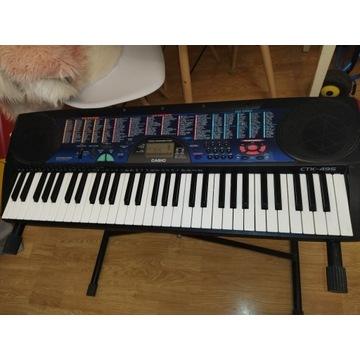 Keyboard CASIO CTK-495 że stojakiem