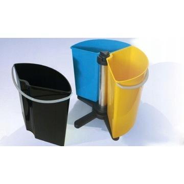 Kosz Pojemnik do segregacji śmieci Obrotowy