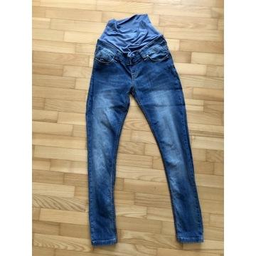 Spodnie jeansy ciążowe Happymum rozmiar M jak nowe