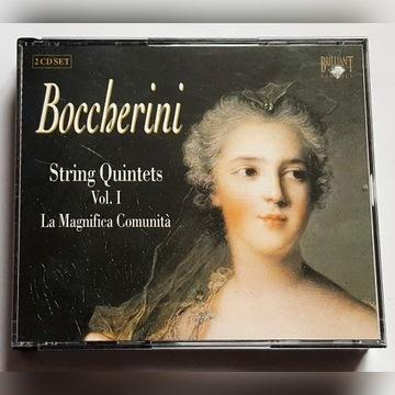 Boccherini: String Quintets Vol. 1  2CD
