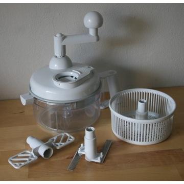Wielofunkcyjny robot kuchenny ręczny sieka/miksuje