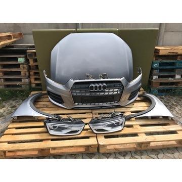 Kompletny przód Audi Q3 Lift 15> LZ7G led xenon