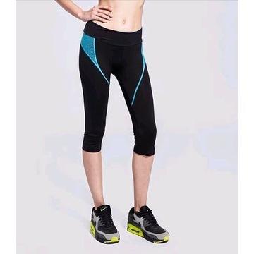 Nowe Sportowe Spodnie Leginsy Fitness roz. S (36)