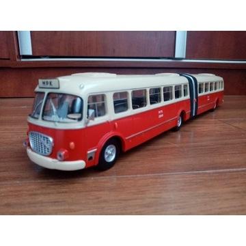 Autobus Jelcz przegubowy AP-02 ogórek mex 1/43