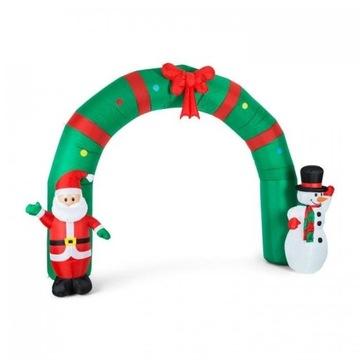 Nadmuchiwana ozdoba świąteczna Brama 250cm LED