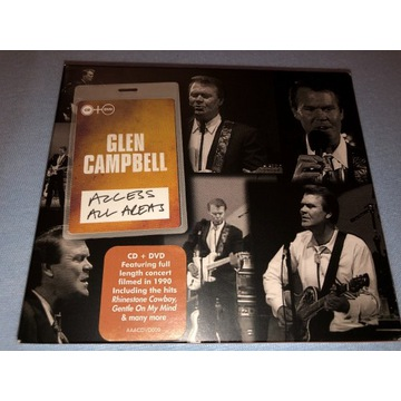 Glen Cambell-Acces All Areas CD+DVD