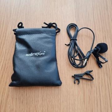 Mikrofon pojemnościowy krawatowy Walimex Pro