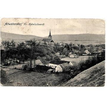 Stary Waliszów, (Altwaltersdorf). 1913 rok