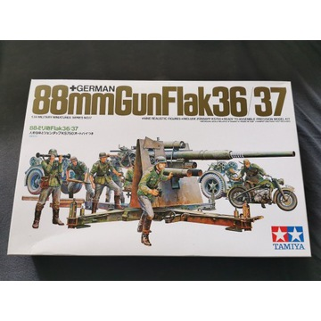 Model Tamiya Flak 88mm Gun 36/37