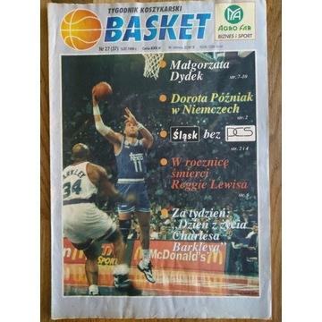 Tygodnik Koszykarski BASKET nr 27 (37) 5.07.1994