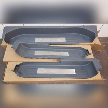 Mercedes Viano 2009 nakładki progowe progi listwy