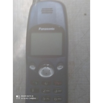 Zestaw dwa stare telefony Panasonic Ericsson
