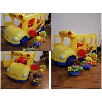 Fisher Price autobus szkolny polska wersja