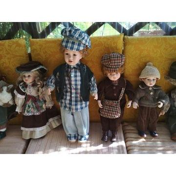 Lalki porcelanowe kolekcja