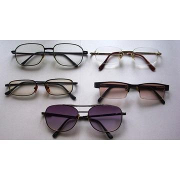 okulary korekcyjne komplet -2