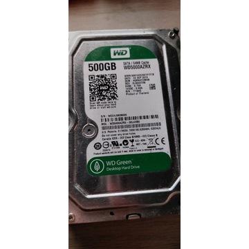 WD GREEN 500GB bardzo dobry stan
