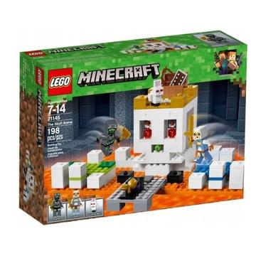 LEGO MINECRAFT 21145 Czaszkowa arena