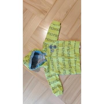 Bluza z kapturem Coccodrillo rozm. 68, 3-6 m-cy