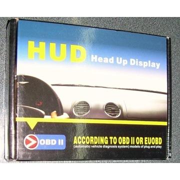 WYŚWIETLACZ HEAD-UP HUD OBD-2 5.5 A8