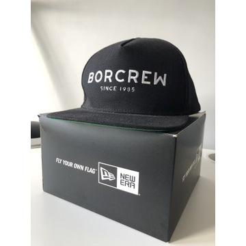 BOR BORCREW Paluch czapka fullcap wlepki