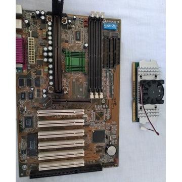 Intel celeron + płyta główna