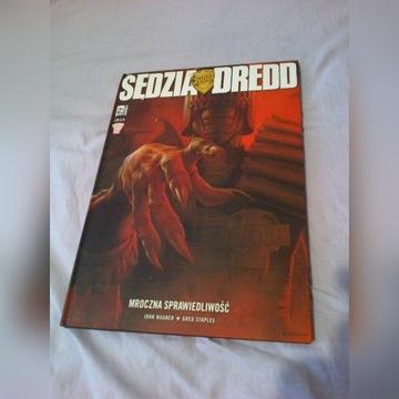 Sędzia Dredd - Mroczna sprawiedliwość - unikat !