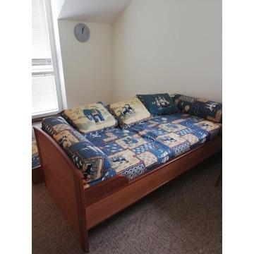 łóżko dziecięce rozkładane ze skrzynią