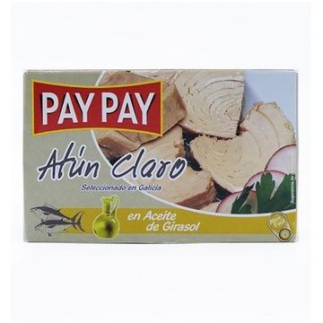 Tuńczyk biały w oleju słoneczn Pay Pay hiszpańskie