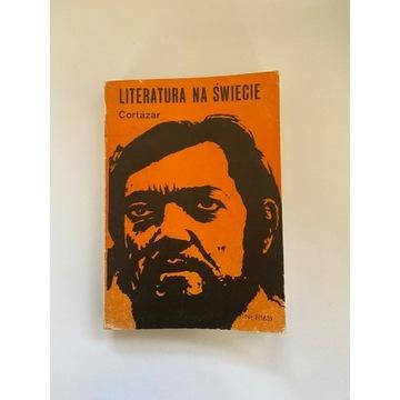 "Książka ""Literatura na świecie"" - Cortázar"