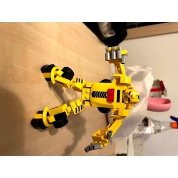 Klocki podobne do LEGO, Robot samochód