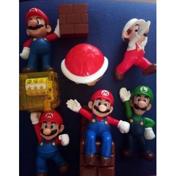 Zestaw figurek Super Mario Bros Nintendo Mc Donald