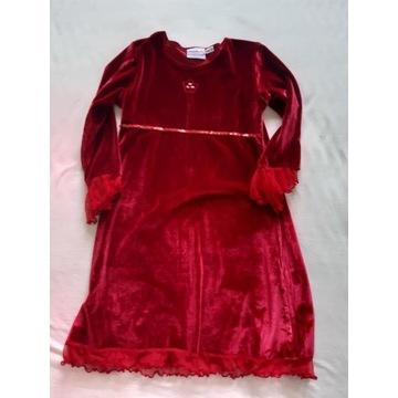 Elegancka i modna sukienka 3/4 rozm 122