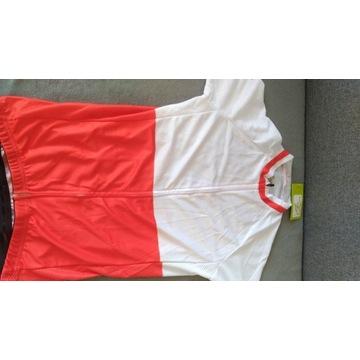 Koszulka i spodenki rowerowe damskie