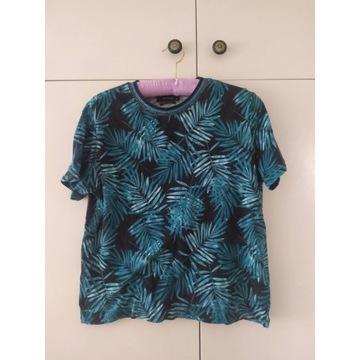 T-Shirt RESERVED 38 liście palmy