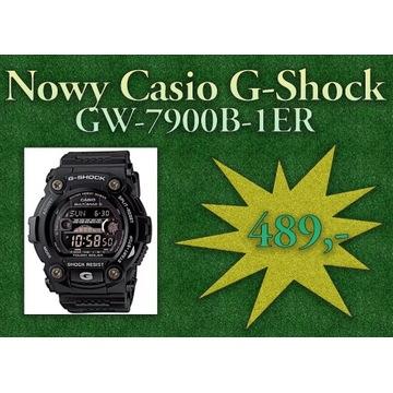 Nowy męski zegarek Casio G-Shock GW-7900B-1ER
