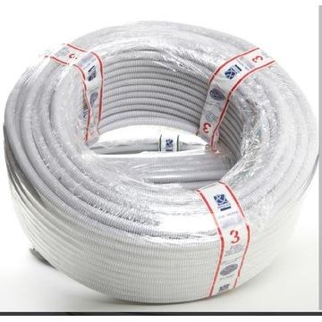 Przewód  kabel w peszlu  w rurce 3x2,5  vob 16fi