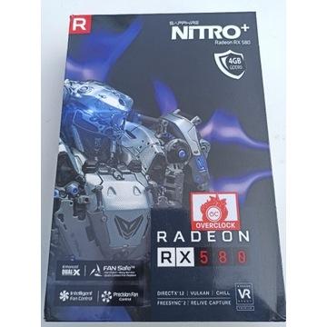 Karta Radeon Sapphire RX580 4GB Nitro+ od 1 zł